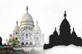 Jak vznikají siluety měst